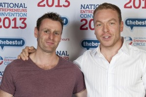 Scott Weir meets Sir Chris Hoy